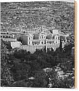 Bethlehem - Artas Convent Year 1900 To 1925 Wood Print