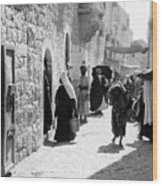 Bethlehem - Hard Working Woman Wood Print