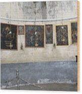 Bethlehem - Nativity Church Paintings Wood Print