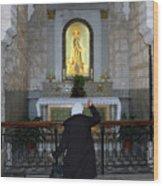 Bethlehem - The Rosary Wood Print