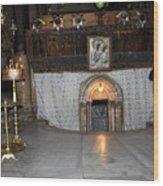 Bethlehem - Woman During Pray Wood Print