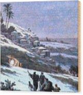 Bethlehem 1893 Wood Print