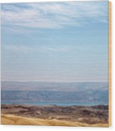 Bethlehem Desert Wood Print