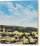 Bethlehem New Day Wood Print