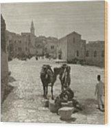 Bethlehem: Street, C1911 Wood Print
