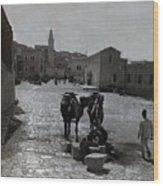 Bethlehem Street Scene 1911 Wood Print