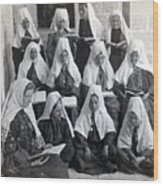 Bethlehem Women School 1900s Wood Print