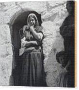 Bethlehemites Women 1900s Wood Print