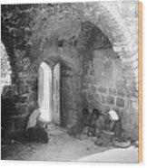 Bethlehemites Women Working Year 1925 Wood Print