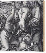 Betrayal Of Christ 1508 Wood Print