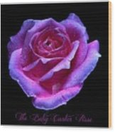 Betsy Cartier Rose Wood Print