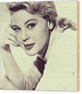 Betsy Palmer, Vintage Actress Wood Print