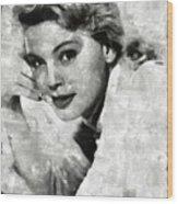 Betsy Palmer Vintage Hollywood Actress Wood Print