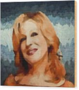 Bette Midler Collection - 1 Wood Print