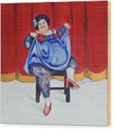 Betty II Wood Print