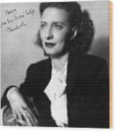 Betty Smith (1896-1972) Wood Print