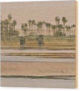 Between Derr And Ibreem Wood Print