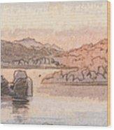 Between Kalabshee And Tafa Wood Print
