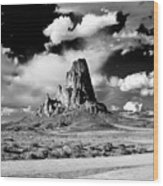 Between Monument Valley And Canyon De Chelley Wood Print