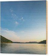 Between The Shores Wood Print