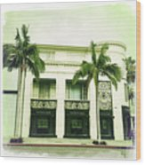 Beverly Hills Rodeo Drive 2 Wood Print