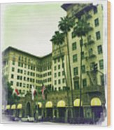 Beverly Hills Rodeo Drive 4 Wood Print