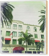 Beverly Hills Rodeo Drive 5 Wood Print