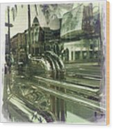 Beverly Hills Rodeo Drive 8 Wood Print