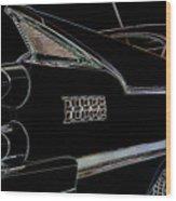 Beware Of Shark Wood Print