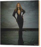 Beyonce - Beautiful Liar  Wood Print