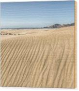 Beyond The Dunes Wood Print