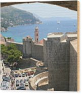 Beyond The Walls Of Old Dubrovnik Wood Print