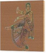 Bharatanatyam 11 Wood Print