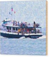 Bhi Ferry Wood Print