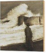 Biarritz 1909 Wood Print