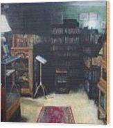 Bibliopoly Wood Print