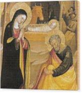 Bicci Di Lorenzo Painting Wood Print