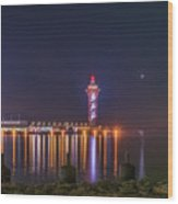 Bicentennial Tower Wood Print