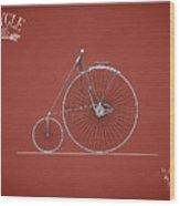 Bicycle 1885 Wood Print