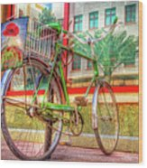 Bicycle Art Wood Print