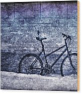 Bicycle Wood Print