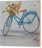 Bicycle I Wood Print