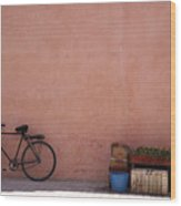 Bicycle Marrakech  Wood Print