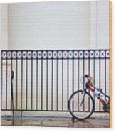 Bicycle New Orleans  Wood Print