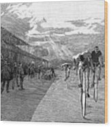 Bicycle Tournament, 1886 Wood Print by Granger
