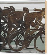 Bicycle Trophies Wood Print