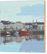 Bideford Quay North Devon Wood Print