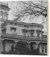 Bidwell Mansion Wood Print