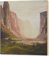 Bierstadt Rendition Wood Print