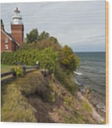 Big Bay Point Lighthouse 2 Wood Print